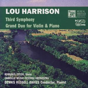 Harrison: Third Symphony & Grand Duo For Violin & Piano