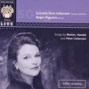 Lorraine Hunt Lieberson and Roger Vignoles Product Image