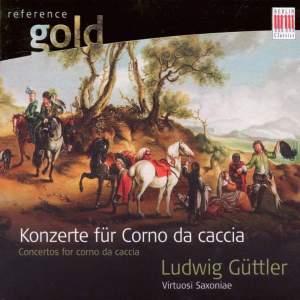 Concertos for corno di caccia