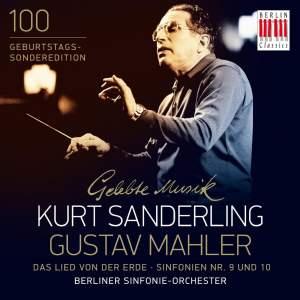 Mahler: Das Lied von der Erde and Symphonies Nos. 9 & 10