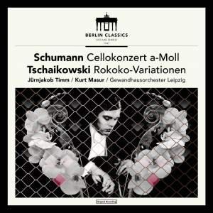 Schumann: Cello Concerto in A Minor, Op. 129 - Tschaikowsky: Variations on a Rococo Theme, Op. 33 (Bonustracks: Bach: Cello Suite No. 1 & 2)