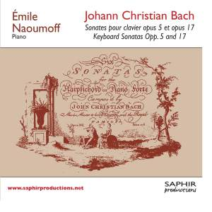 JC Bach: Keyboard Sonatas Opp. 5 & 17