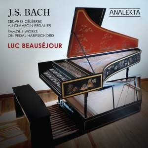 JS Bach: Famous Works on Pedal Harpsichord Product Image
