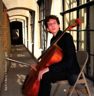 Frederic Rosselet plays Bach, Berio, Dutilleux & Ligeti