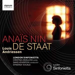 Andriessen: Anaïs Nin & De Staat