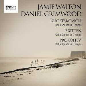 Shostakovich, Britten & Prokofiev: Cello Sonatas