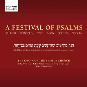 A Festival of Psalms Product Image