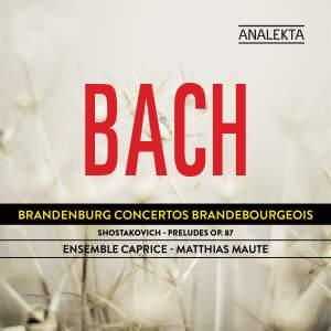 Ensemble Caprice play JS Bach & Shostakovich