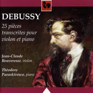 25 pièces transcrites pour violon et piano