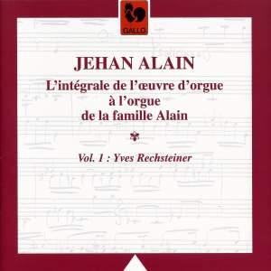 L'oeuvre d'orgue de Jehan Alain, Vol. 1