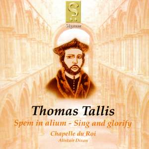 Tallis: Spem in alium for eight five-part choirs '40-part Motet', etc.