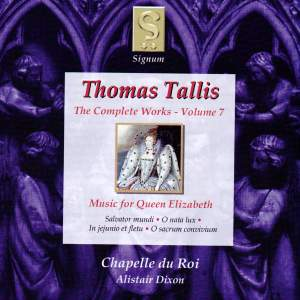 Thomas Tallis - Complete Works Volume 7