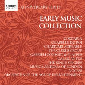 Signum Anniversary Series: Early Music Collection