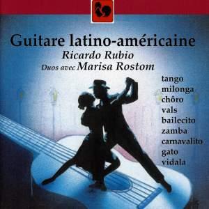 Piazzolla - Guastavino - Villa-Lobos: Guitare latino-américaine