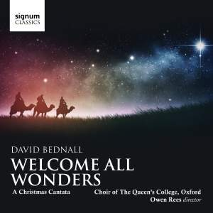 Bednall: Welcome All Wonders: A Christmas Cantata Product Image