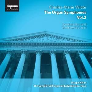 Widor: The Complete Organ Symphonies Volume 2