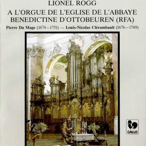 Lionel Rogg plays Dumage & Clérambault