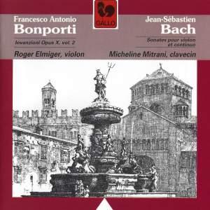 Bach: Violin Sonatas & Bonporti: Invenzioni