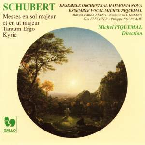 Schubert: Mass No. 2 in G major, D. 167, Kyrie in B-Flat Major, D. 45, Tantum Ergo in C Major, D. 739 & Mass No. 4 in C Major, D. 452