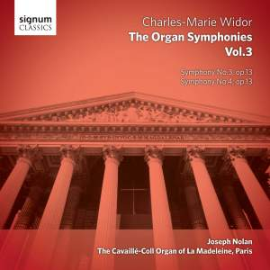 Widor: The Complete Organ Symphonies Volume 3