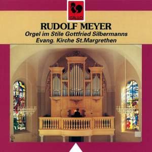 Bach - Kittel - Müthel - Krebs - Walther - Meyer: St. Margrethen Organ