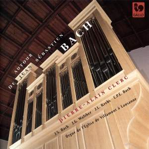 Bach, Walther & Krebs: Organ of the Church of Villamont in Lausanne