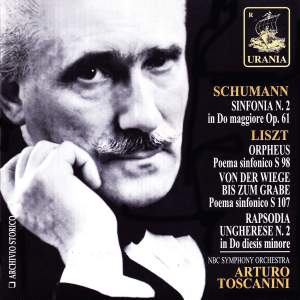 Schumann: Symphony No. 2 & Liszt: Orpheus, Hungarian Rhapsody No. 2