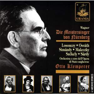 Die Meistersinger von Nurnberg - Otto Klemperer