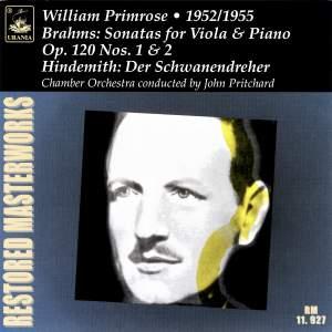 Brahms: Viola Sonatas Op. 120 & Hindemith: Der Schwanendreher Product Image