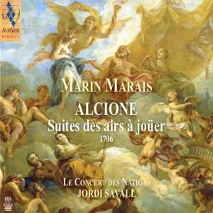 Marais: Alcione - Suites des airs à joüer (1706)