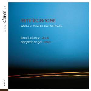 Reminiscences: Romantic Works for Violin & Piano Product Image
