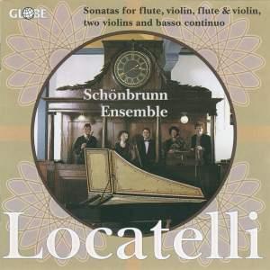 Pietro Antonio Locatelli - Flute and Violin Sonatas
