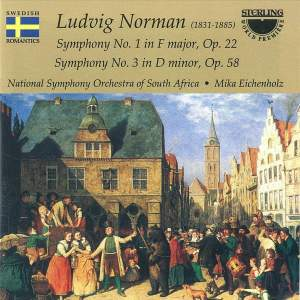 Ludvig Norman: Symphonies Nos. 1 & 3 Product Image