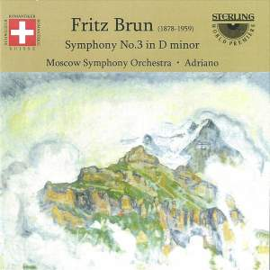 Brun, F: Symphony No. 3 in D minor Product Image