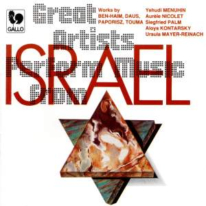 Great Artists Perform Music from Israel