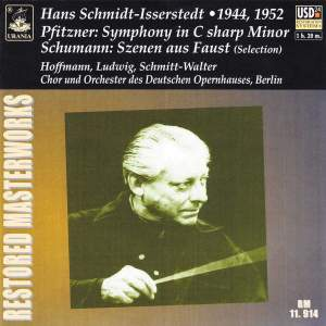 Pfitzner: Symphony in C-Sharp Minor - Schumann: Szenen Aus Faust