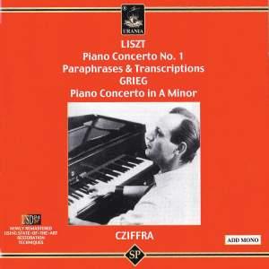 Liszt, Grieg & Cziffra: Piano Works