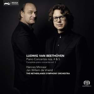 Beethoven: Piano Concertos Nos. 4 & 5 Product Image