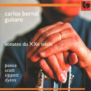 Manuel Maria Ponce - Cyril Scott - Sir Michael Tippett - Roland Dyens: Sonates du XXe siècle (Sonatas of the 20th Century) Product Image