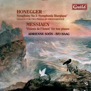 Honegger & Messiaen: Piano Duos