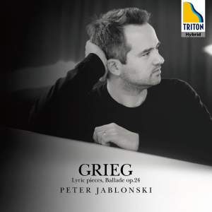 Grieg: Lyric Pieces and Ballade Op. 24 Product Image