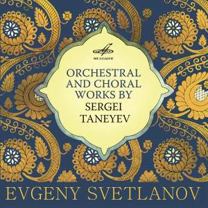 Orchestral and Choral Works by Sergei Taneyev Product Image