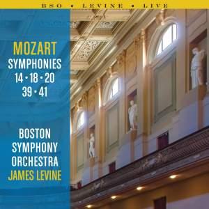 Mozart Symphonies: 14, 18, 20, 39 and 41