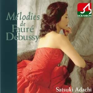 Melodies de Fauré, Debussy