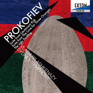 Prokofiev: Suites from Lieutenant Kijé, The Love for Three Oranges, The Ugly Duckling Product Image