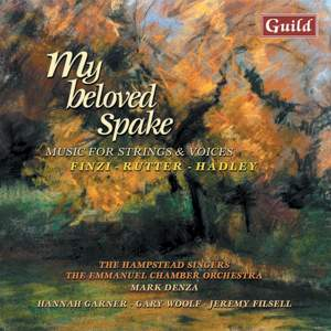 My Beloved Spake: Music for Strings & Voices Product Image