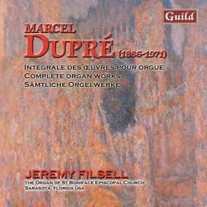 Marcel Dupré: Organ Works Vol. 10