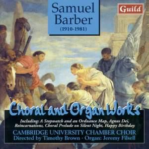 Barber: Choral & Organ Works