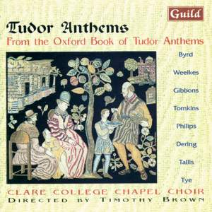 Tudor Anthems from the Oxford Book of Tudor Anthems