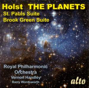 Holst: The Planets, St Paul's Suite & Brook Green Suite